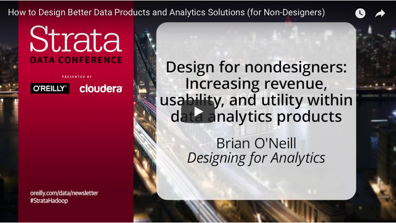 Cover Image for talk at O'Reilly Strata Data Conference in 2017 (NYC)