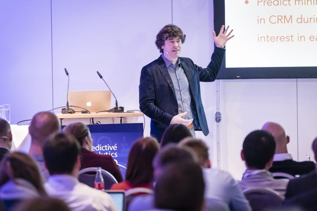 Brian O'Neill speaking at Predictive Analytics World in Berlin
