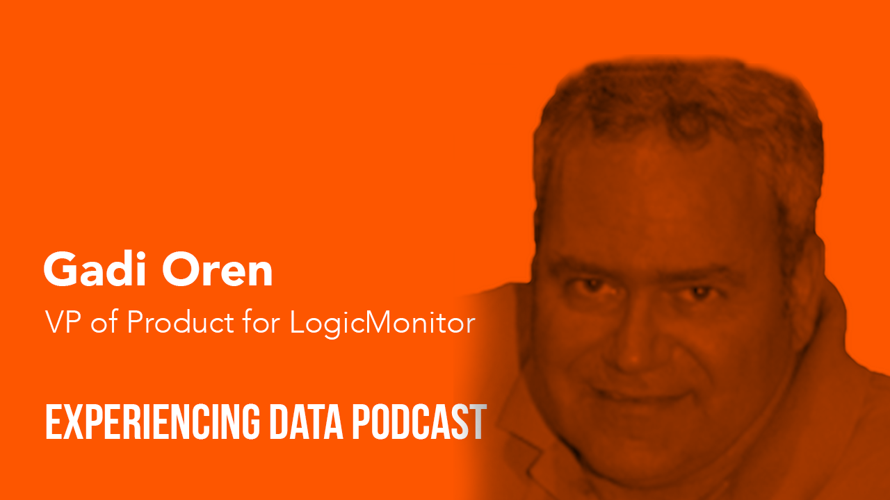 Gadi Oren, VP of Product for LogicMonitor