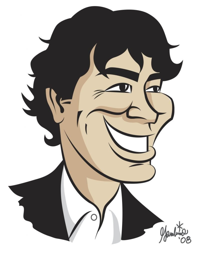 Caricature of Brian T. O'Neill