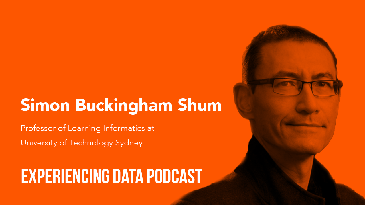 036 – How Higher-Ed Institutions are Using AI and Analytics to Better Serve Students with Professor of Learning Informatics and Edtech Expert Simon Buckingham Shum