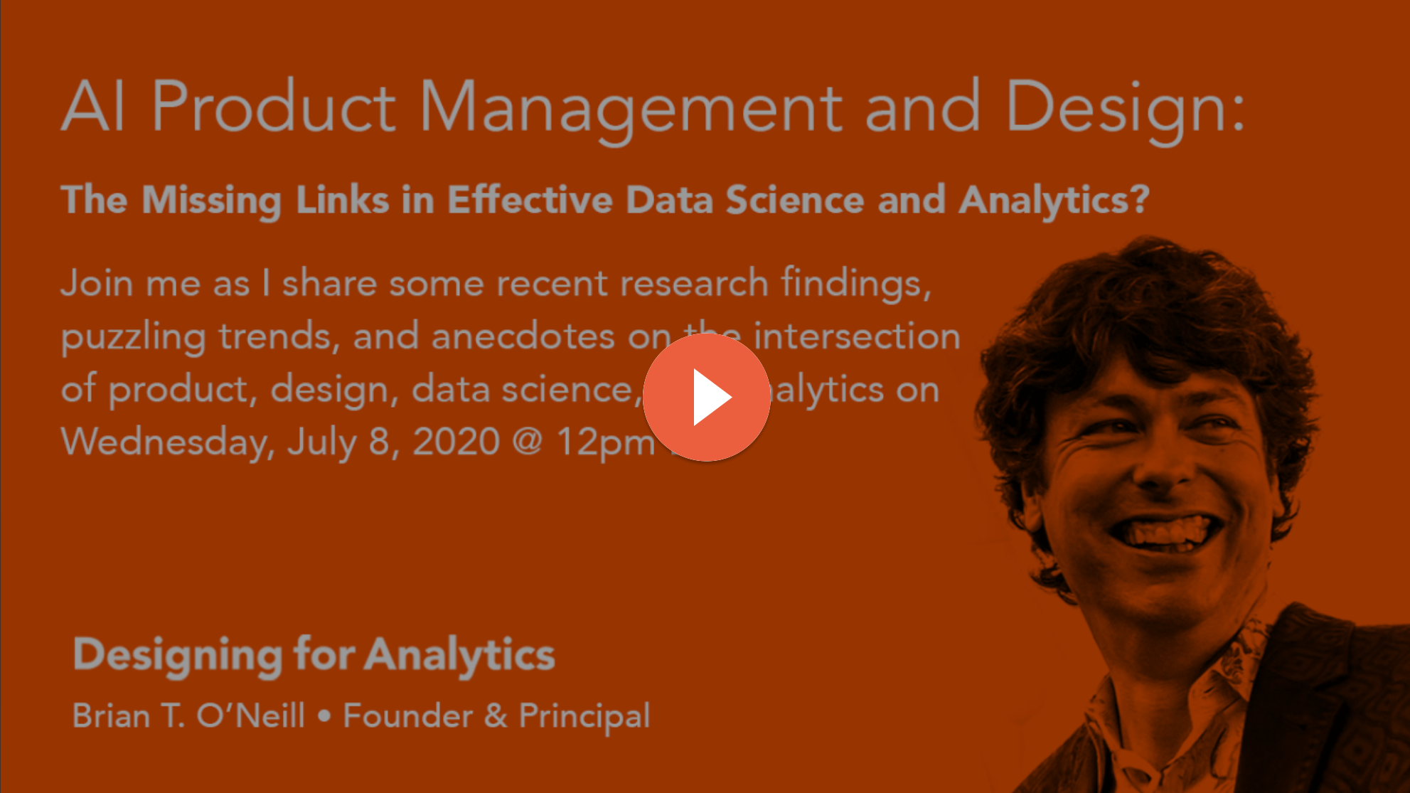 AI Product Management and Design: The Missing Links in Effective Data Science and Analytics?